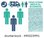 community icon with 1000... | Shutterstock .eps vector #490323991