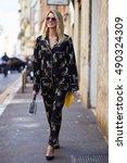 milan  italy   september 25 ... | Shutterstock . vector #490324309