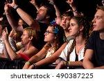 benicassim  spain   jul 18 ...   Shutterstock . vector #490387225