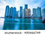 busan city  south korea | Shutterstock . vector #490466749