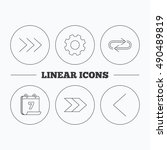 arrows icons. right  repeat...