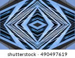 futuristic architecture.... | Shutterstock . vector #490497619