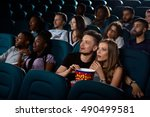 best date entertainment.... | Shutterstock . vector #490499581