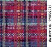ethnic seamless pattern. tribal ...   Shutterstock .eps vector #490503754