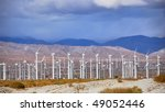 windmills rotating and... | Shutterstock . vector #49052446