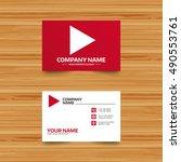 business card template. arrow...