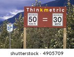 sign found at the border... | Shutterstock . vector #4905709