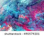 bright artistic splashes.... | Shutterstock . vector #490579201