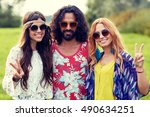 nature  summer  youth culture ... | Shutterstock . vector #490634251