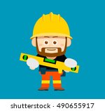 vector illustration   cartoon... | Shutterstock .eps vector #490655917