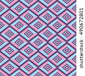 the pattern of diamonds and a...   Shutterstock .eps vector #490672801