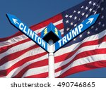 presidential elections in the... | Shutterstock . vector #490746865