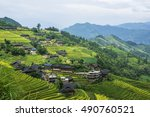 The Terraced Fields Scenery In...