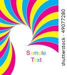carnival swirl | Shutterstock . vector #49077280