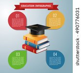 education and learning...   Shutterstock .eps vector #490776031