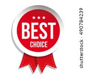 best choice badge vector | Shutterstock .eps vector #490784239