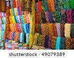 cloth shop in bali | Shutterstock . vector #49079389