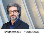 mature elegant professional... | Shutterstock . vector #490803031