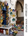 Small photo of Shop in the alleys of Essaouira