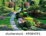 Sunken Garden Inside The...
