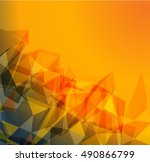 futuristic design  background... | Shutterstock .eps vector #490866799