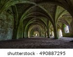 Fountains Abbey Yorkshire...