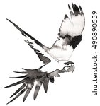 black and white monochrome... | Shutterstock . vector #490890559