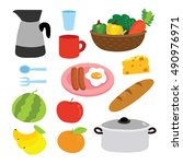 food vector illustration design | Shutterstock .eps vector #490976971