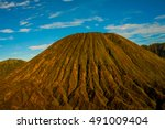 bromo volcano  tengger semeru... | Shutterstock . vector #491009404