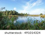 lake de witt with view towards... | Shutterstock . vector #491014324