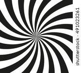 swirling radial pattern. vortex ... | Shutterstock .eps vector #491023261