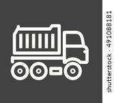 truck | Shutterstock .eps vector #491088181