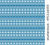 ethnic seamless pattern.... | Shutterstock .eps vector #491116555
