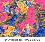 beautiful colorful background... | Shutterstock . vector #491165731
