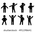 people person basic body... | Shutterstock .eps vector #491198641