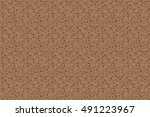 abstract brown background with... | Shutterstock .eps vector #491223967