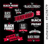 black friday calligraphic