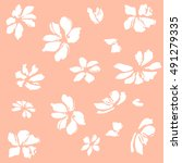 floral | Shutterstock .eps vector #491279335