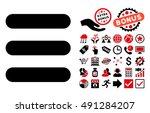 stack icon with bonus elements. ...