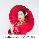 The Lanna Thai   Young Woman...