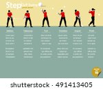 beautiful info graphic flat...   Shutterstock .eps vector #491413405