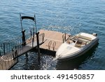 A Luxury Taxi Motor Boat In Th...