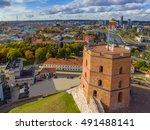 Vilnius  Lithuania  Aerial Top...