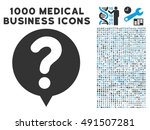status balloon icon with 1000... | Shutterstock . vector #491507281