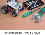 diy electronic components for... | Shutterstock . vector #491567335
