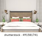 3d illustration. stylish modern ... | Shutterstock . vector #491581741