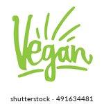 hand sketched typographic... | Shutterstock .eps vector #491634481