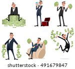 vector illustration of a six... | Shutterstock .eps vector #491679847