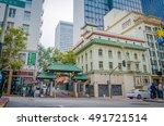 san francisco  california  ... | Shutterstock . vector #491721514