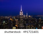 new york city  usa   aug 10 ... | Shutterstock . vector #491721601